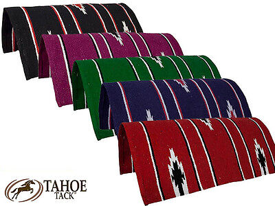 """Navajo Western Horse and Pony Saddle Blanket 30"""" x 30"""" by Tahoe Tack"""