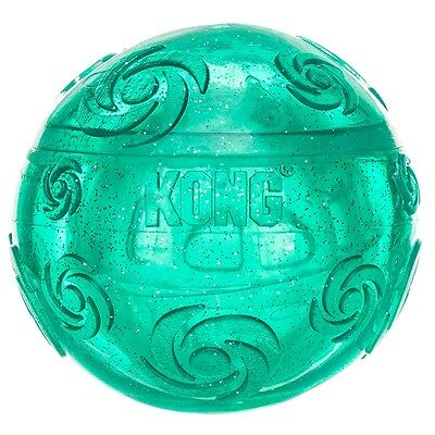 Kong Squeezz Crackle Ball for Dogs- Colors Vary