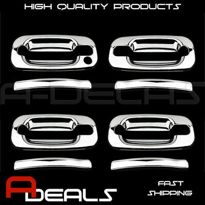 For Chevy Tahoe/silverado/suburban 00~06 Chrome Door Handle Cover 4Drs