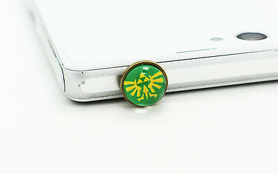 The Legend of Zelda Anti-Dust Plugs Cell Phone Port Cover Iphone Samsung 10mm
