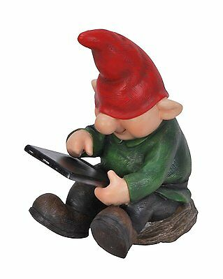 NEW Vivid Arts Playful Gnome Son with Leafpad PN28-F