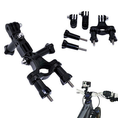 Fixation Guidon Support Adaptateur Vélo pour GoPro HD Hero 2 3