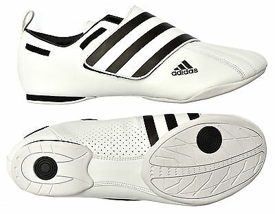 Adidas Martial Arts Trainers ADI-DYNA Karate Taekwondo Shoes White Size 5