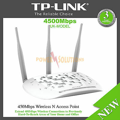 TP-LINK TL-WA901ND Universal 450Mbps Wireless N Access Point PoE Supported
