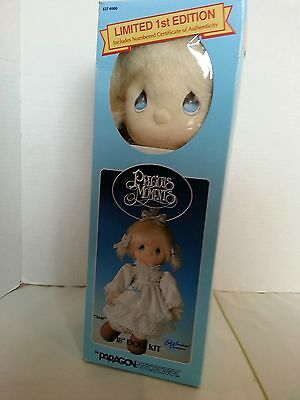 """Precious Moments Susie 18"""" Doll Kit #4000 by Paragon Needlecraft / NEW 1985"""