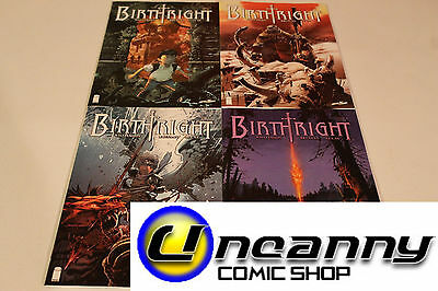 Birthright 1 2 3 4 Complete Comic Lot Run Set Collection NM