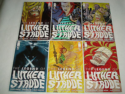 The Legend of Luther Strode 1-6 1 2 3 4 5 6 Complete Comic Lot Run Set NM Z