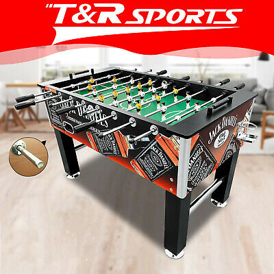 2017 New Model 5Ft Pub Size Soccer / Foosball Table Walnut 4 Drink Holders Au