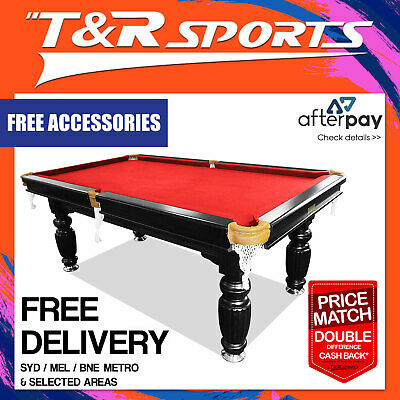 New!7Ft Luxury Red Slate  Pool/billards/snooker Table; Syd/mel Deliver