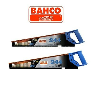1 x BAHCO 244 HARDPOINT 7 Teeth Hand Saw Timber Wood 20''/500mm or 22''/550mm