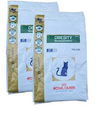 2x6kg Royal Canin  Obesity DP42 Gatto Diete Veterinarie
