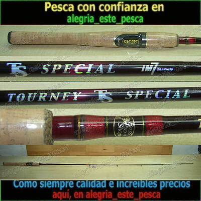 PESCA - CAÑA SPINNING BASS PRO SHOPS TOURNEY TS SPECIAL IM7 - 1.80nts