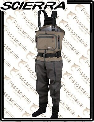 Wader Scierra X-Tech CC6 Stocking Foot Waders scafandro spinning mosca