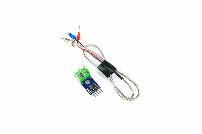 MAX6675 K-type Thermocouple Temperature Sensor 0-800 Degrees Flux Workshop