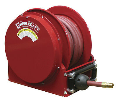 "REELCRAFT SD14050 OLP 1"" x 50ft. 300 psi.  for Air & Water service  with Hose"