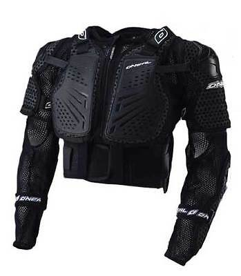Oneal Underdog 2 Body Armour - Black - Youth Large For Motocross Use