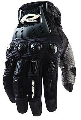 Oneal Butch Carbon Mx Gloves - Black - Adult Large (10) - Aussie Seller