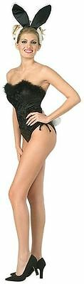 Adult Classic Showgirl Playboy Bunny Halloween Costume Size Small NEW Outfit