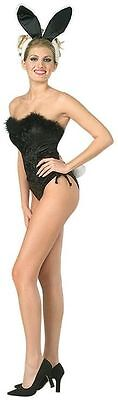 Adult Womens Classic Showgirl Playboy Bunny Halloween Party Costume Small