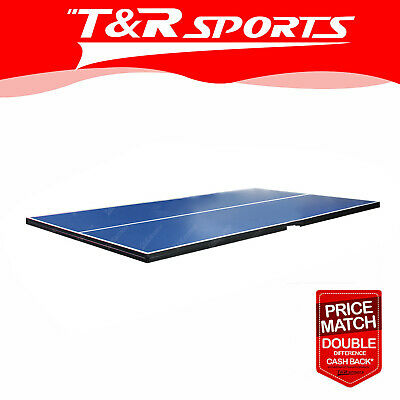 Standard Size Tennis Ping Pong Table Top - 16MM Thickness Free Rackets Balls Net
