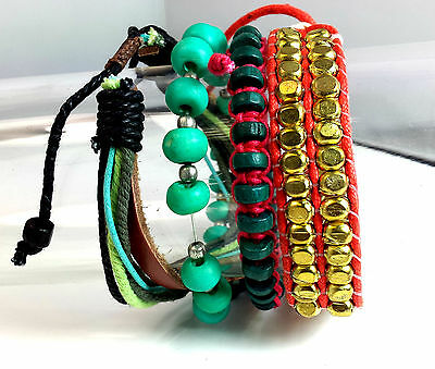 WHOLESALE JOB LOT EX HIGH ST  x 100 MEN'S FASHION BRACELET BANGLE SETS