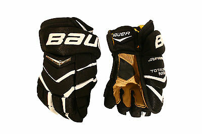 New Bauer Supreme Total One Nxg Jr Black/white   Gloves Size 11""