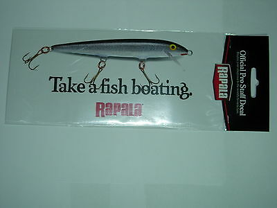 RAPALA 'TAKE A FISH BOATING' CAR / TACKLE BOX Fishing Sticker