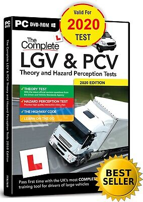 Complete Lgv Hgv Pcv Dsa Dvsa Theory Test Hazard Perception  Pc Dvd Cd 2017