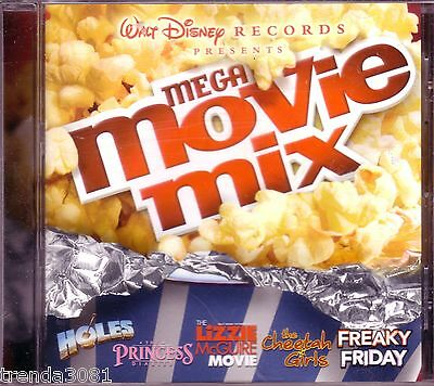 Disney Mega Movie Mix CD Classic 80s 90s Soundtrack RAVEN JUMP5 A*TEENS Great