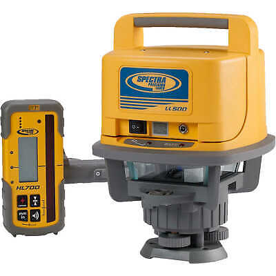 Spectra Precision LL500 Laser Level with HL700 Laserometer