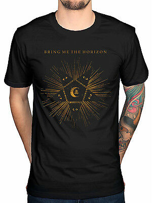 Official Bring Me The Horizon Black Star NEW Unisex T-Shirt Band Metal Merch