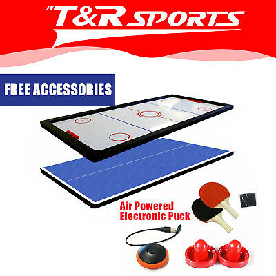 7FT Air Hockey / Table Tennis Top for 7FT Pool Billiard Table Free Metro Post*