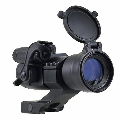 Holographic 1x32 M2 Reflex Red/Green Dot Sight Scope with Picatinny Rail