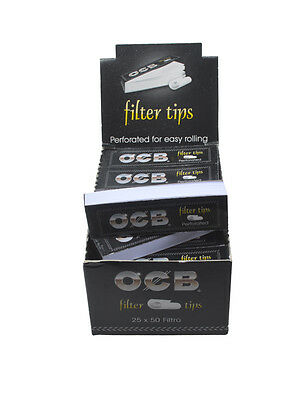 Ocb Perforated Filter Tips Roaches Roach  Smoking - Free Uk P&P - Multi Buy