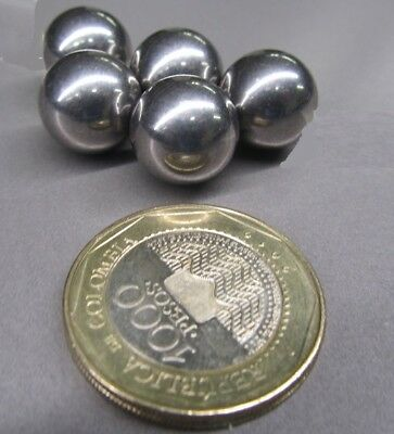 440C Stainless Steel Ball 14 mm Dia,  5 pcs