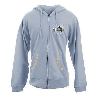 Peace Frogs Adult Day & Night Full Zip Hooded Sweatshirt Small