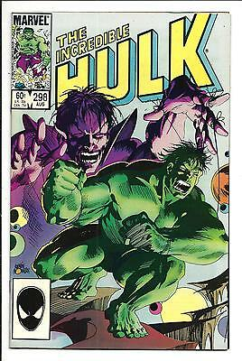 Incredible Hulk # 298 (Aug 1984), Nm