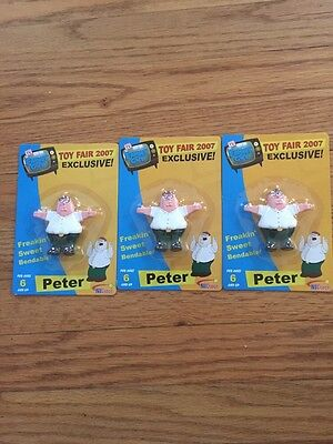 Toy Fair Exclusive Peter Griffith Family Guy Lot Of 3
