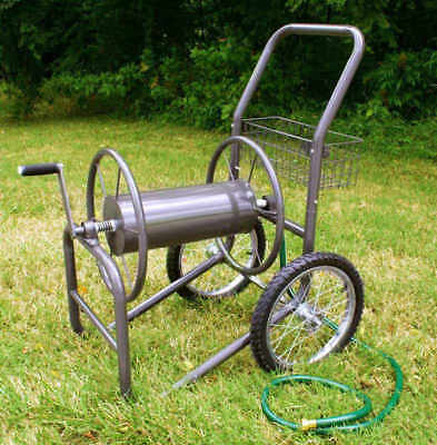 Liberty Garden Industrial Two-Wheel Hose Reel Cart