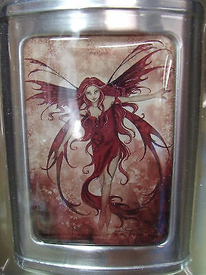 New Amy Brown The Fire Element Stainless Steel 3Oz Flask Fairy Faery