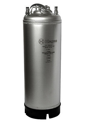 New Kegco 5 Gallon Home Brew Ball Lock Keg with Strap Handle homebrew Beer Soda