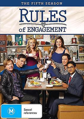 RULES OF ENGAGEMENT Season 5 (Region 2) DVD The Complete Fifth Series Five