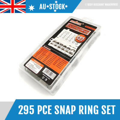 300 Pcs Internal Circlip Retaining Ring Metric Snap Ring Set Assortment 19033
