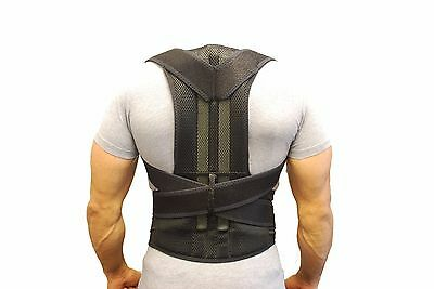 Deluxe Neoprene Breathable Posture Corrector bad back support shoulder lumbar