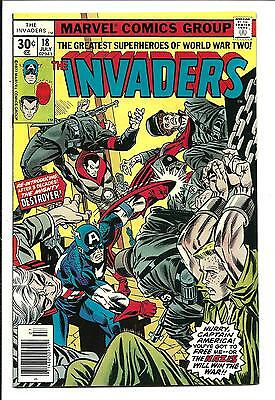 The Invaders # 18 (Destroyer, New Origin, July 1977), Vf/nm