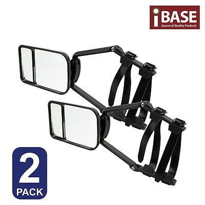 2x TOWING MIRROR CLIP UNIVERSAL MULTI TRAILER CARAVAN CAR TRUCK VEHICLE 4WD FREE