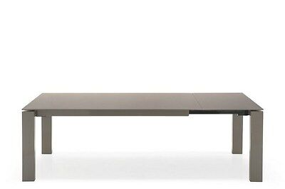 Calligaris Connubia Dining Table Sigma 4069-LV 94.5 Frame and tabletop dove grey