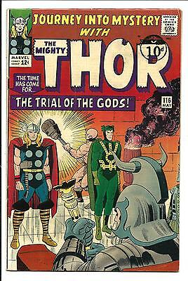 Journey Into Mystery # 116 (Kirby Thor, May 1965), Fn+