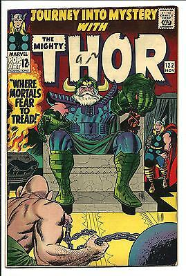 Journey Into Mystery # 122 (Kirby Thor, Nov 1965), Fn+