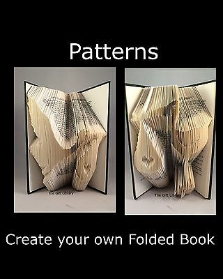 Mum Holding Baby Folded Book Art Folding PATTERN ONLY #1034